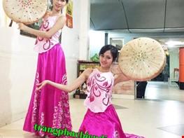 áo yếm váy đụp, áo yếm váy múa, trang phục biểu diễn, cho thuê trang phục, trang phục truyền thống, trang phục sân khấu
